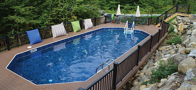 Les 25 meilleures id es de la cat gorie piscine semi for Club piscine pool liners