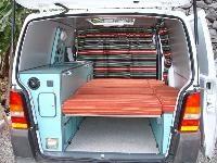 Furgonetas Camper, Furgomania.com - trabajos - furgoneta camper mercedes vito