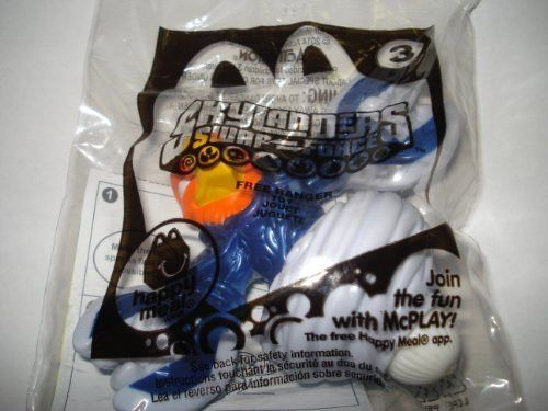 McDonald's 2014 Skylanders Swap Force Free Ranger Toy #3