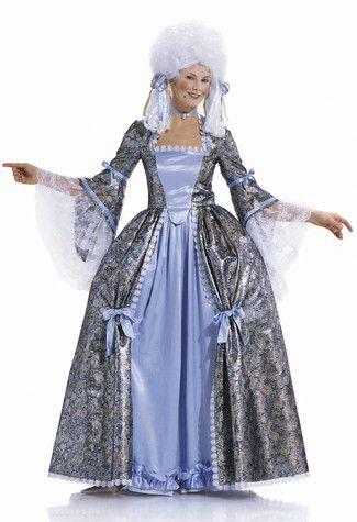Schnittmuster: Rokokokleid - historisches Kleid - Historische Kostüme - Kostüme Erwachsene - Fasching - burda style