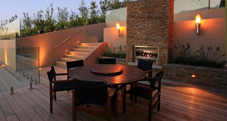 Fireplaces - Aura Gas - Outdoor