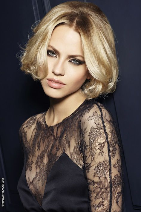 Trendy hairstyle Autumn Winter 2012/2013 by Franck Provost: very glamorous Bobbed hairstyle