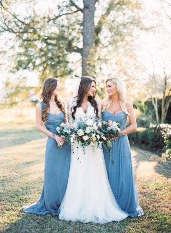 Свадьба в голубом цвете.    #wedding #bride #flowers