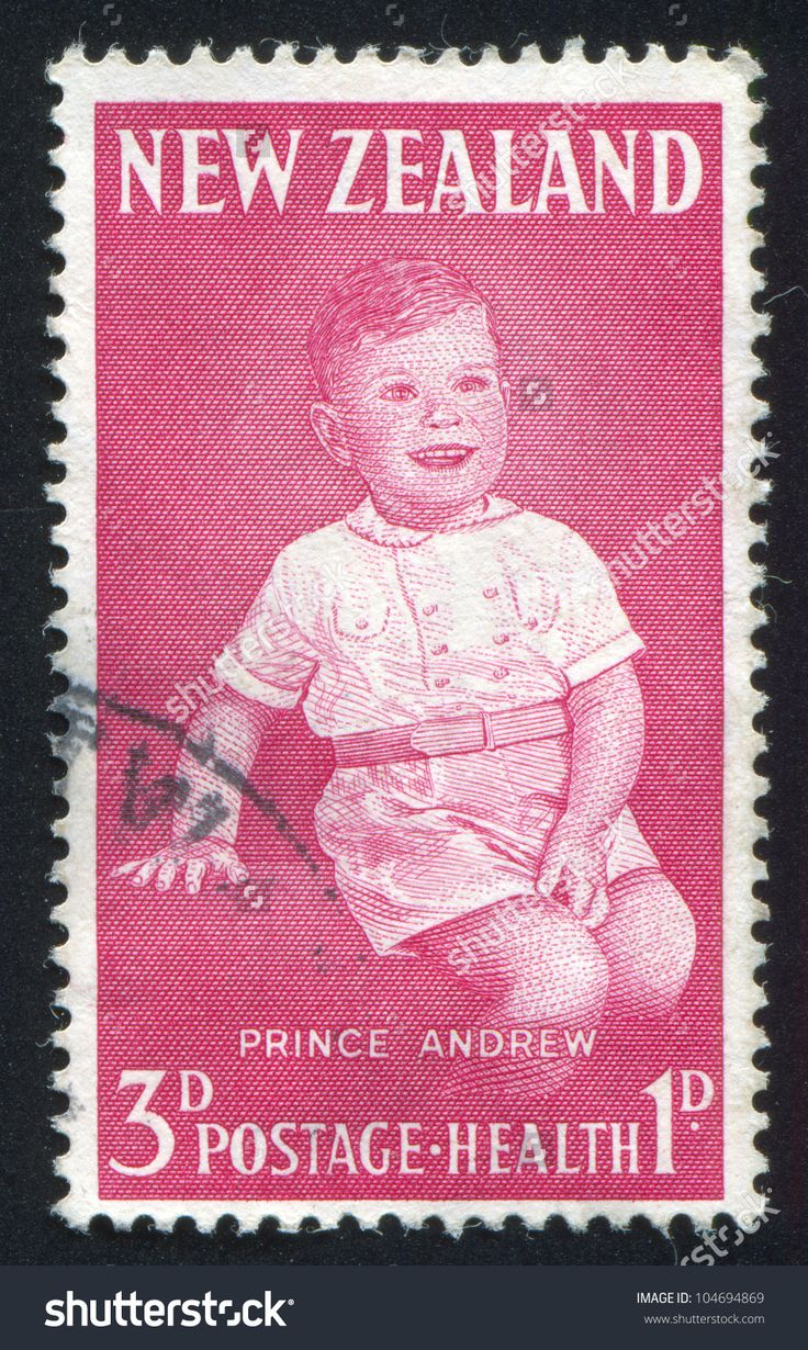 prince andrew stamp | NEW ZEALAND - CIRCA 1963: stamp printed by New Zealand, shows Prince ...