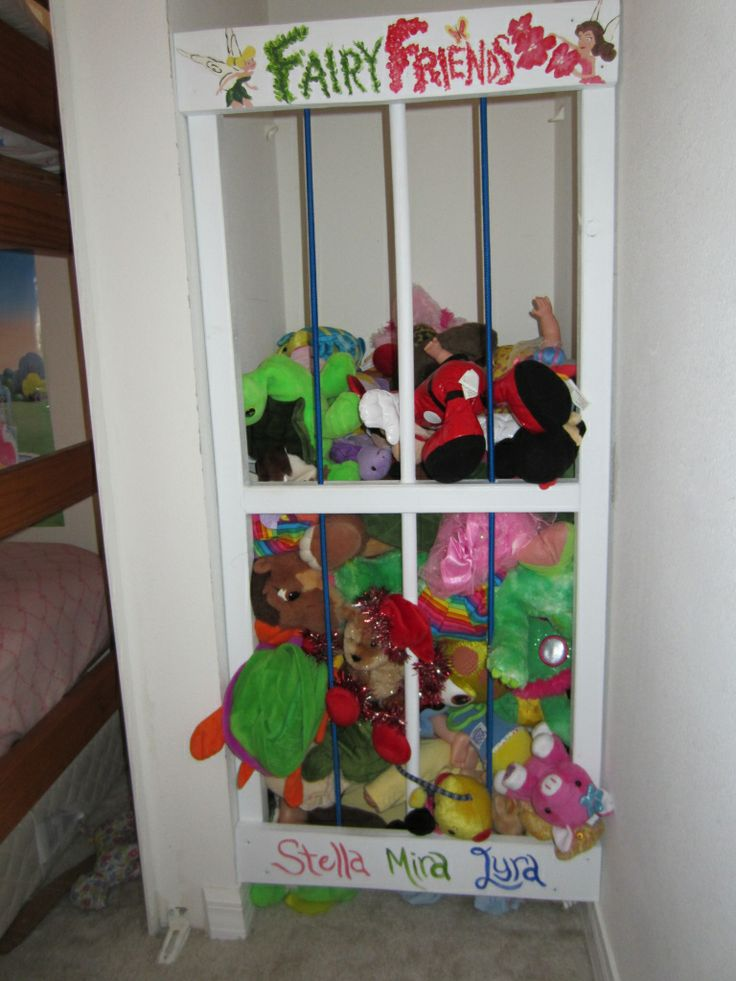 Diy Zoo Cage For Stuffed Animals Kids Decor Pinterest