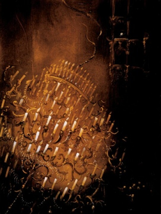The Chandelier Falls From Anne Bachelier Phantom Of Opera Ilrations Love This Novel