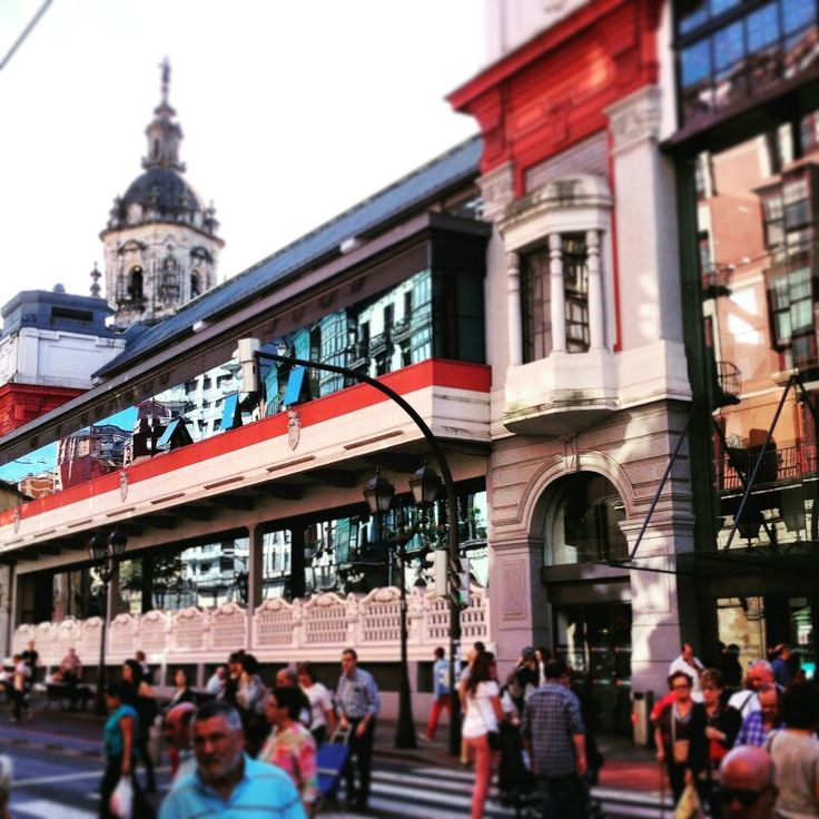 Market in the old town of Bilbao