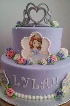 (2) Tortas De La Princesa Sofia - $ 190,00 en Mercado Libre