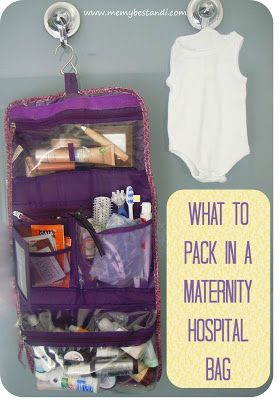 Me, my best and I: So what does a beauty blogger pack in her maternity hospital bag?