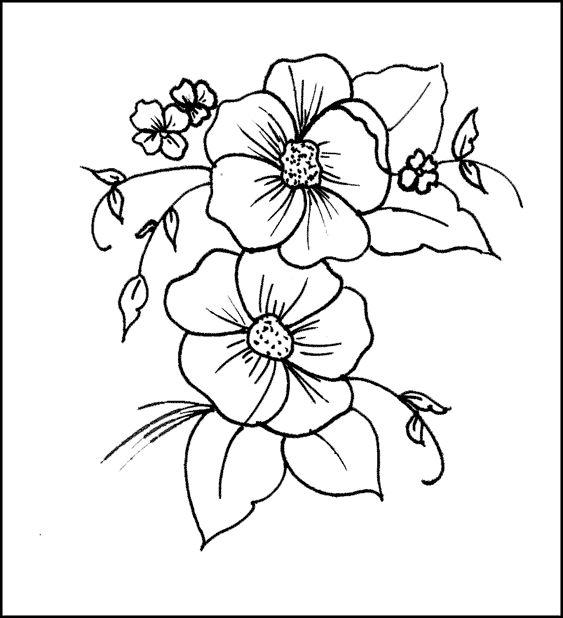 más de 25 ideas únicas sobre flores para pintar en pinterest