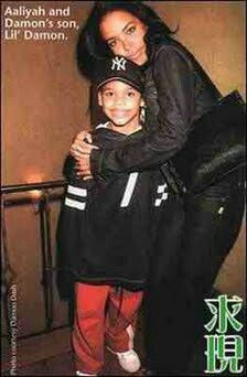 Aaliyah and Damon's son