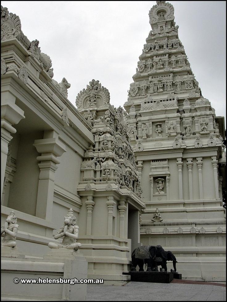 Helensburgh Temple - Hindu Temple - Sri Venkateswara Temple.  Beautiful architecture.