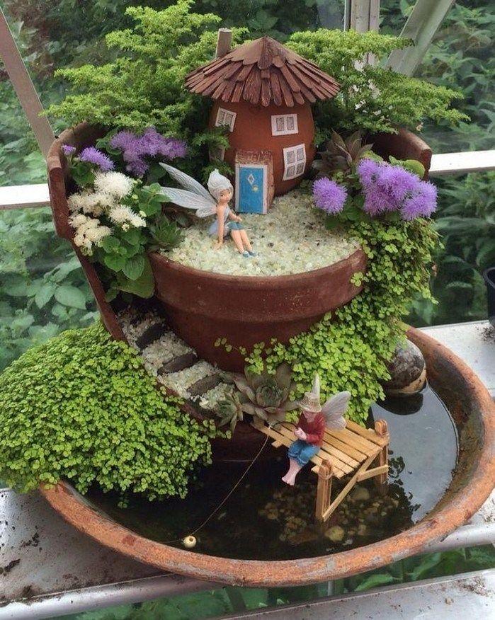 ✔55 beautiful fairy garden design ideas for summer 20 Related – DIY DECOR
