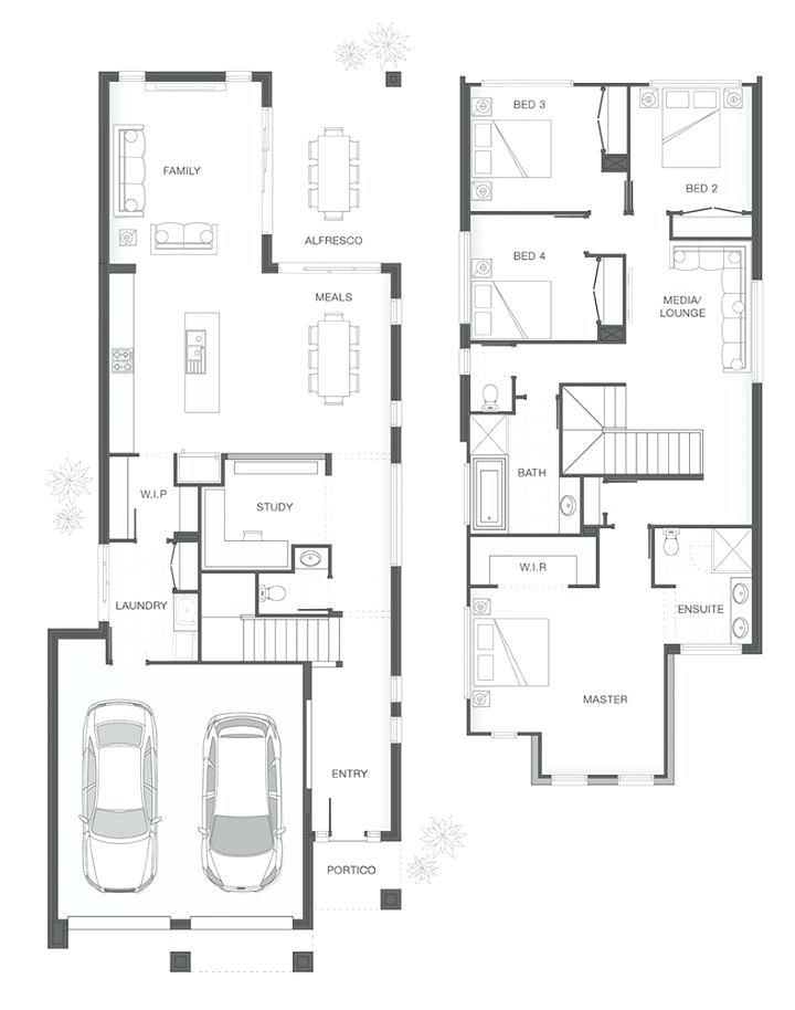 restaurant floor plan creator gurus floor in 2019 | Narrow ... on one story narrow lot homes, contemporary narrow homes, 2 story home blueprints, 2 story mansion, 2 story house, beautiful 4 story homes, 1-story luxury homes, country narrow lot homes,