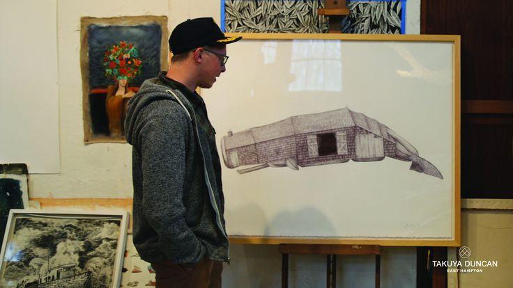 Scott Bluedorn Artist Mulford's Whale