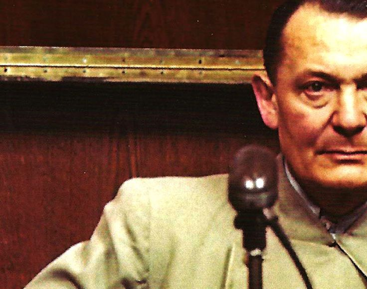 """December 14, 1945 – Nuremberg Trials – Goering: """"We Are Having An Extremely Difficult Week"""". – December 14, 1945 - Nuremberg Trial reports - Arthur Gaith - Gordon Skene Sound Collection - December 14, 1945 - And the word from Nuremberg was pessimistic. The War Crimes Tribunal was forging ahead, and with each new day... #agencefrancepresse #banovinaofcroatia #brunostojić"""