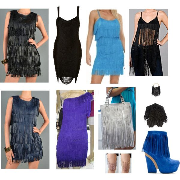 """Fringe Flapper"" by primadnd on Polyvore"