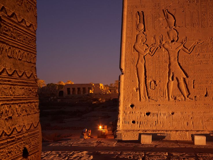 See a photo of a relief of Cleopatra on a temple wall in Egypt by George Steinmetz, from National Geographic.