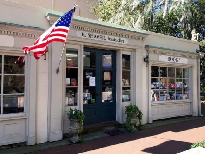 E. Shaver, Bookseller in historic Savannah, Georgia is something like a dream for book lovers.