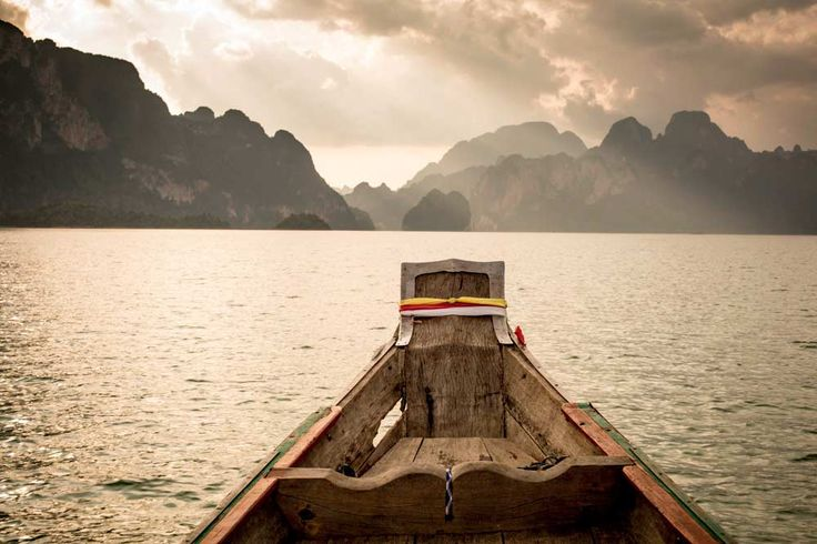 Una de las impresionantes vistas dentro del Parque nacional Khao Sok en Tailandia