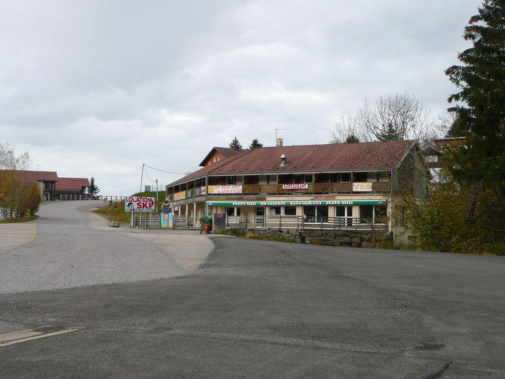 un des restaurants de la station