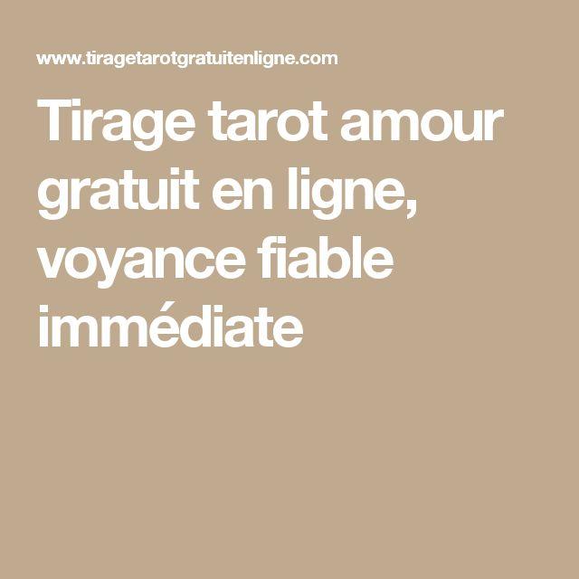 Tirage tarot amour gratuit en ligne, voyance fiable immédiate