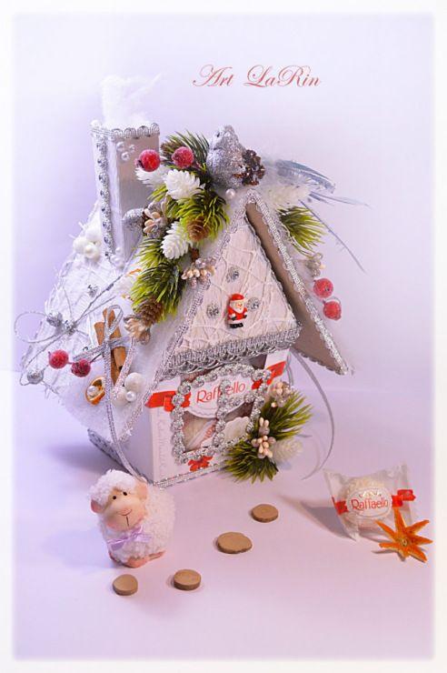 Gallery.ru / Рафаэльный домик - *Новогоднее оформление подарков***Happy New Year* - larin-dobro