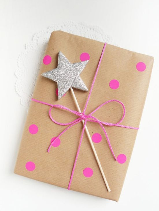 Gift wrapping ideas by Ghirlanda Di Popcorn