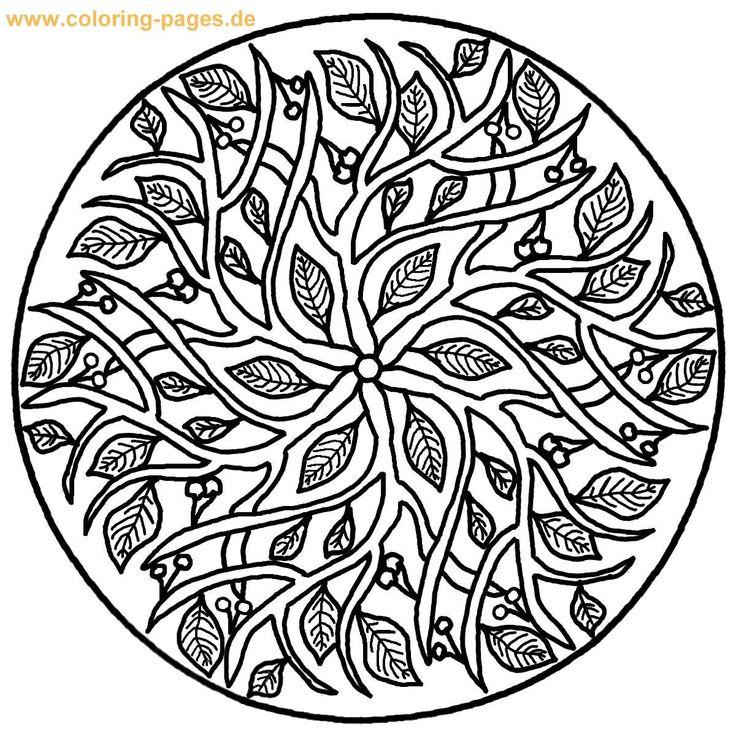 mazuras mandala coloring pages - photo#28