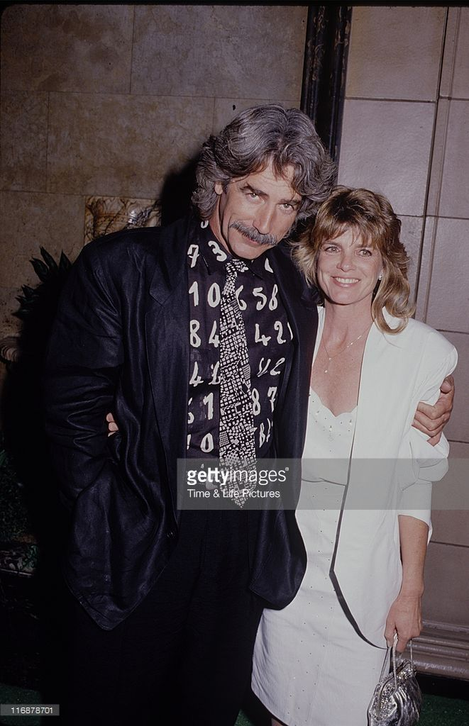 STATES - Actor Sam Elliott and wife Katharine Ross, circa 1990.