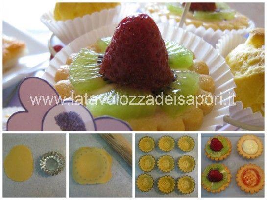 Tartelle alla Frutta   http://www.latavolozzadeisapori.it/ricette/tartelle-alla-frutta