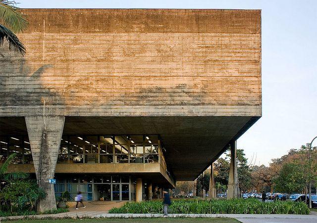 More about [João Batista] Vilanova Artigas... | Image : Faculdade de Arquitetura e Urbanismo da Universidade de São Paulo (FAUUSP) [Architecture and Urbanism College of University of São Paulo]