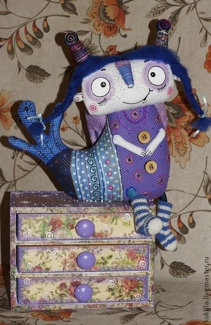 Коллекционные куклы ручной работы. Ярмарка Мастеров - ручная работа Весенние птахи. Handmade.