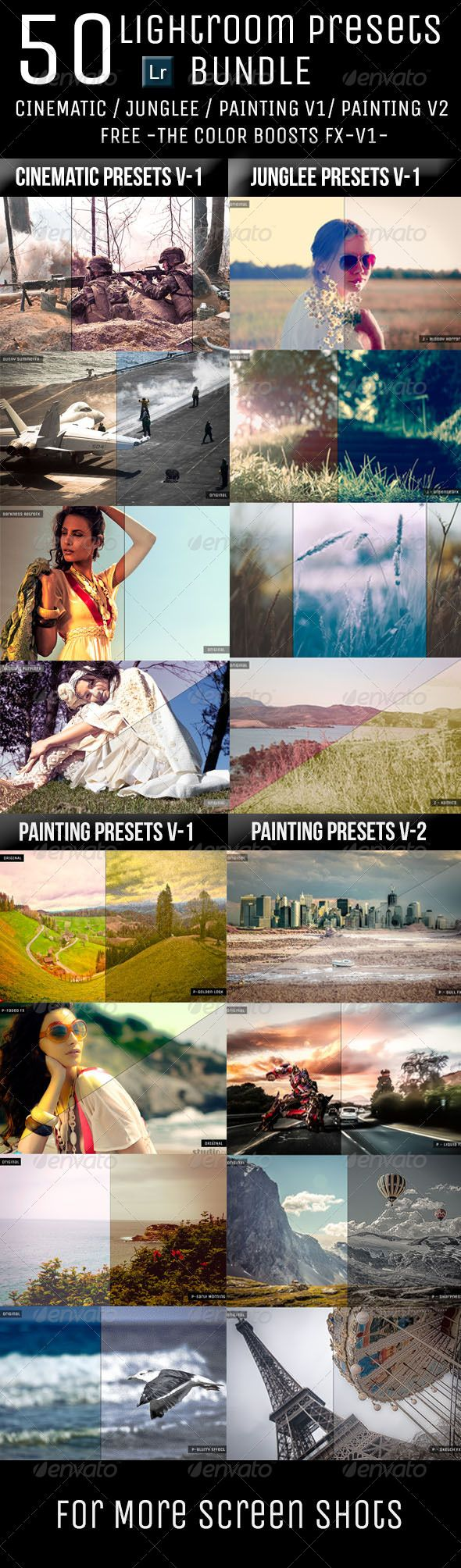 50 #Lightroom #Presets Bundle