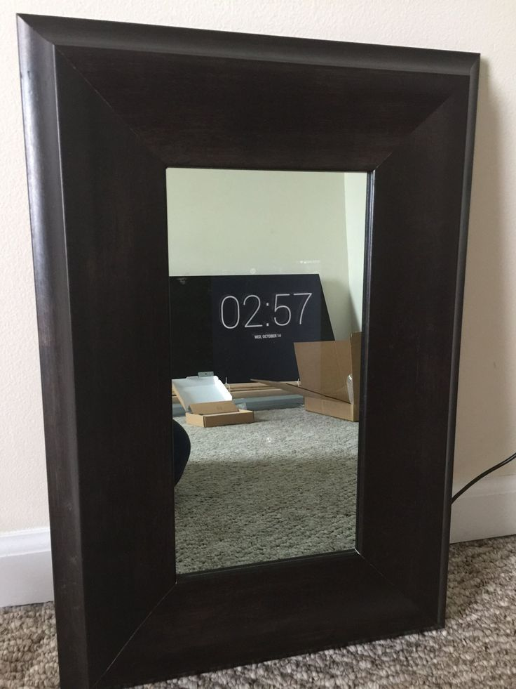 Smart mirror two way mirrors wishlist pinterest for Two way mirror