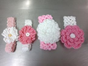 Link to pattern now attached. Baby Head Bands. All free patterns are in my boards. http://www.ravelry.com/patterns/library/headband-pattern-the-genius-headband