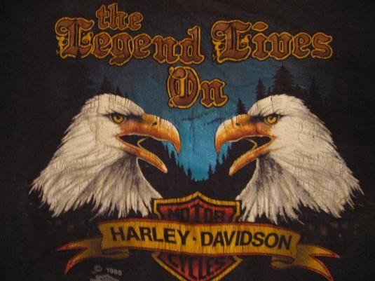 32 best vintage harley t shirts images on pinterest for T shirt printing visalia ca