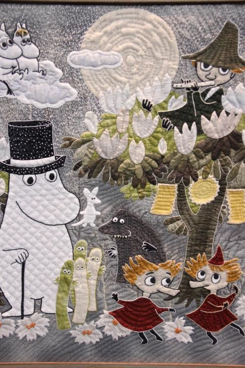 Oh Oh Oh! Moomin Quilt