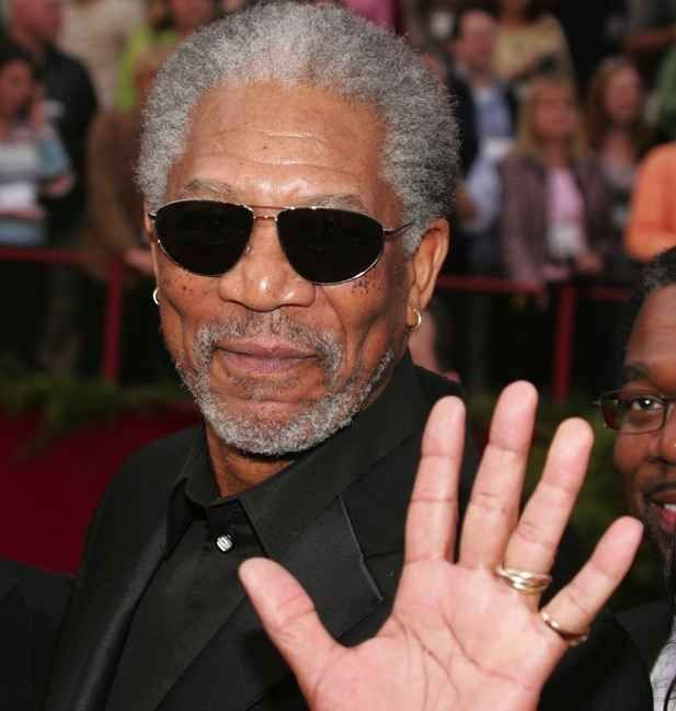 Morgan Freeman | 59 Famous People Who Are Left-Handed