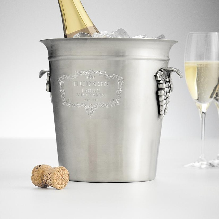 Vintage Style, French Inspired Personalizable Ice Bucket Brings Old World  Elegance To Both Home Design Ideas