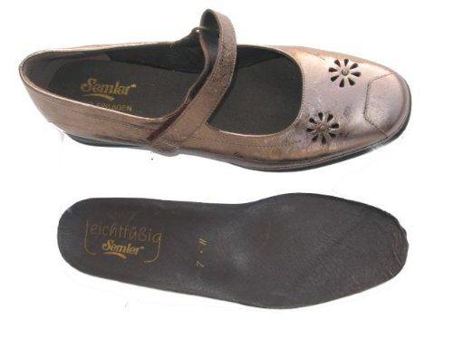 Semler, R361-5-059, Ria, Damen, Ballerina, bronce Leder , Weite H - http://on-line-kaufen.de/semler/semler-r361-5-059-ria-damen-ballerina-bronce-leder