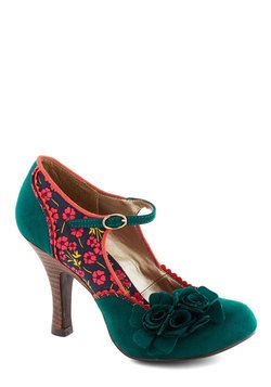 Snazzy Scenery Heel, #ModCloth