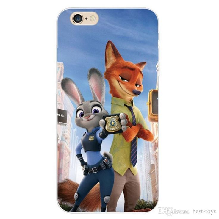 Movie Zootopia Wholesale Phone Cases Nick Wilde Judy Hopps Fox Rabbit For Iphone Soft Tpu Cover For Iphone 4s 5s 6 6s Plus Silicone Cell Phone Cases Ballistic Cell Phone Cases From Best Toys, $0.63| Dhgate.Com