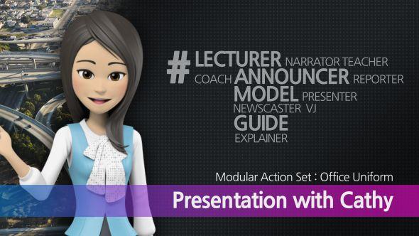 Presentation With Cathy Office Uniform Ad Cathy Ad