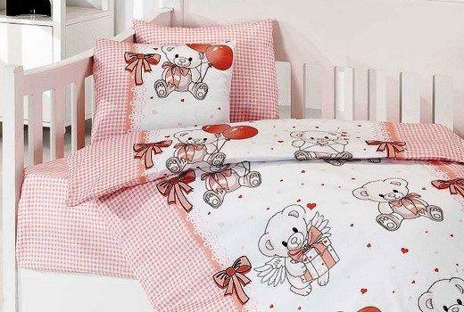 сшить постельное белье для новорожденных