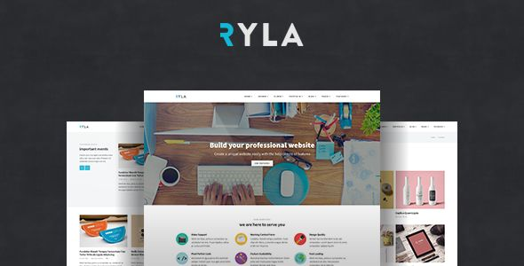 Ryla - Multipurpose Single/Multi Page WordPress Theme