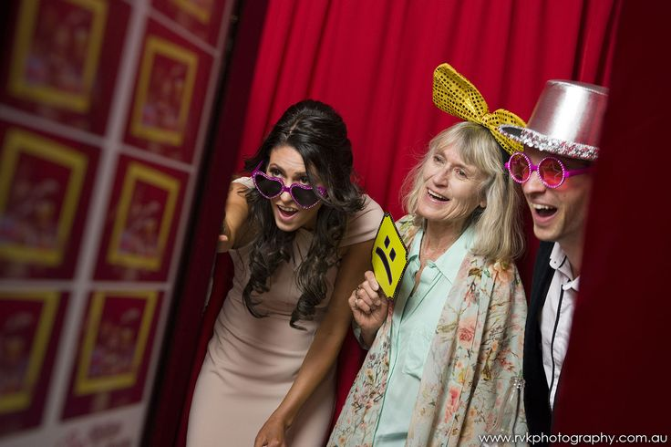 Great photo of our photo booth fun by RVK Photography