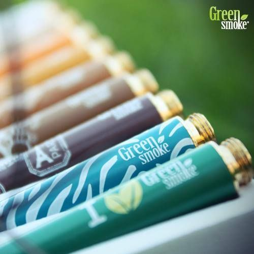 Baterii de design Green Smoke