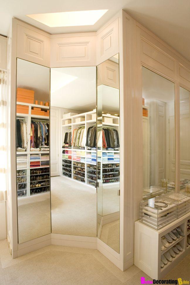 The Zhush: Luxury Closets Mirror U0026 Jewelry Storage