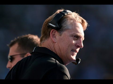 Jack Del Rio fired after loss to Chargers